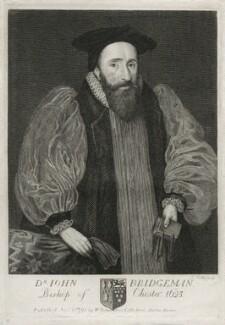 John Bridgeman, by Thomas Trotter, published by  William Richardson - NPG D26748