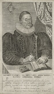 James Ussher, by William Marshall, published by  George Badger - NPG D26751