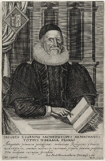 James Ussher, by William Marshall, published by  John Stafford - NPG D26760