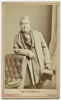 Edward Matthew Ward, by London Stereoscopic & Photographic Company - NPG x38992