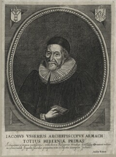 James Ussher, after Unknown artist, published by  Peter Stent - NPG D26757