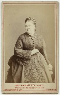 Henrietta Mary Ada Ward, by London Stereoscopic & Photographic Company - NPG x46573