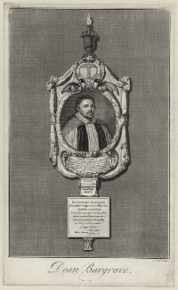 Isaac Bargrave, by James Cole - NPG D26765