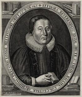 Josias Shute, by William Marshall - NPG D26770