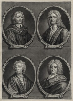 Worthies of Britain, by Francis Kyte, published by  John Bowles - NPG D26773