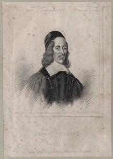 George Herbert, by Henry Meyer - NPG D26779