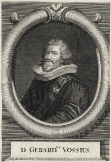 Gerardus Joannes Vossius, by George Vertue - NPG D26785