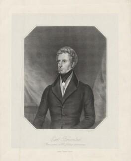 John Cust, 1st Earl Brownlow, by George B. Black, mid 19th century - NPG D32238 - © National Portrait Gallery, London