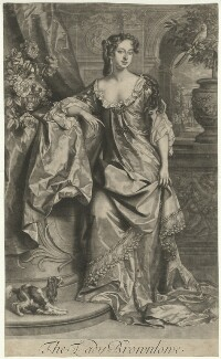 Alice (née Sherrard), Lady Brownlow, by John Smith, published by  Alexander Browne, after  Willem Wissing - NPG D32241