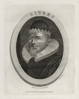 Richard Sibbes (Sibbs, Sibs), by Thomas Trotter - NPG D26792