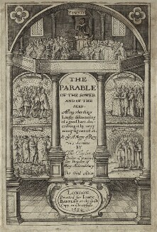 Thomas Taylor in the title page to his ''The Parable of the Sower and of the Seed'', after Unknown artist - NPG D26806
