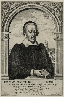 William Fenner, by Wenceslaus Hollar, published by  John Stafford - NPG D26816
