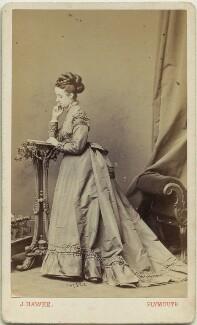 Joan Frances Thomas (née Denny), by John Hawke - NPG x33538