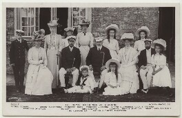 'The Royal Gathering at Osborne', by Arthur William Debenham, published by  Rotary Photographic Co Ltd, 4 August 1909 - NPG x33257 - © National Portrait Gallery, London