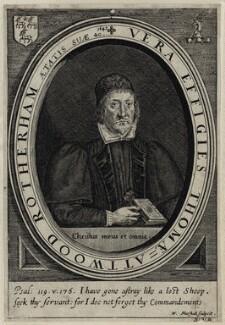 Thomas Attwood Rotherham, by William Marshall - NPG D26866