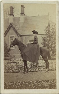 Joan Frances Thomas (née Denny), by P. Collins - NPG x33536
