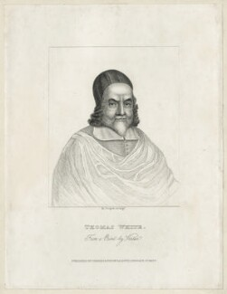 Thomas White, by R. Cooper, after  George Vertue - NPG D26883