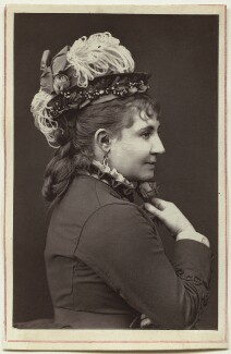 Lydia Thompson (Eliza Hodges Thompson), by Unknown photographer - NPG Ax7652