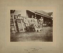 Julius Ralph Young; Frank Rowland Ewart; Hon. Charles John Steavenson; William Dundas Dooner, printed by George V. Hubbard - NPG x27568