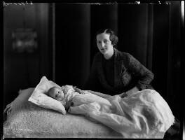 Patrick Feltrim Fagan; Hon. (Mary) Isabella Fagan (née Arundell), by Bassano Ltd - NPG x152076