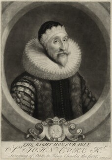 Sir John Coke, by George White, after  Unknown artist - NPG D26902