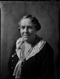 Hon. Henrietta Franklin (née Montagu), by Bassano Ltd - NPG x152090