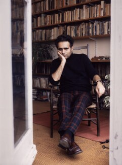 Hanif Kureishi, by Jane Sebire - NPG x88257