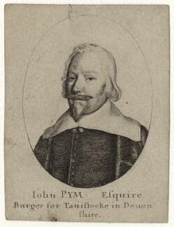 John Pym, by Wenceslaus Hollar - NPG D26910