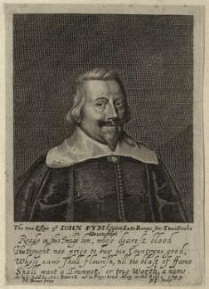 John Pym, by George Glover, after  Edward Bower - NPG D26915