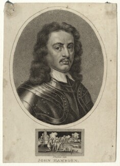 John Hampden, by John Chapman - NPG D26916