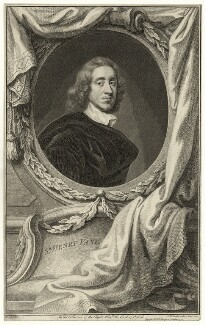 Sir Henry Vane the Younger, by Jacobus Houbraken, after  Sir Peter Lely - NPG D26923