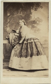 Lady Mary Catherine Craven (née Yorke), by Camille Silvy - NPG x1560