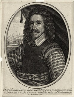 Sir Edward Dering, 1st Bt, published by Balthasar Moncornet, after  Unknown artist - NPG D26930
