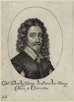 Sir Edward Dering, 1st Bt, by George Glover - NPG D26932