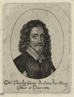 Sir Edward Dering, 1st Bt, by George Glover - NPG D26933