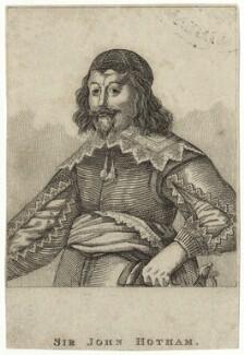 Sir John Hotham, 1st Bt, after Unknown artist - NPG D26938