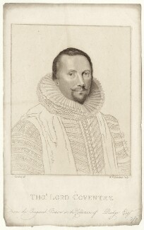 Thomas Coventry, 1st Baron Coventry, by William Nelson Gardiner, after  Silvester (Sylvester) Harding - NPG D26945