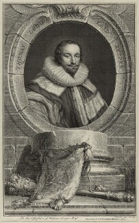 Thomas Coventry, 1st Baron Coventry, by Jacobus Houbraken, published by  John & Paul Knapton - NPG D26946