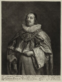 Edward Littleton, Baron Littleton, by Robert Williams, after  Sir Anthony van Dyck - NPG D26949