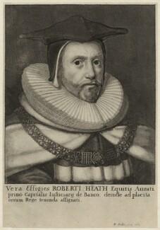 Sir Robert Heath, by Wenceslaus Hollar - NPG D26953