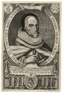 Sir George Croke, by Robert Vaughan - NPG D26956