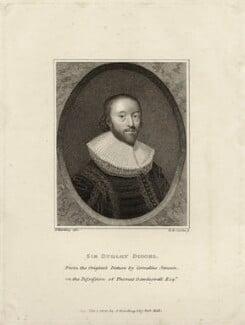 Sir Dudley Digges, by Henry Richard Cook, published by  Silvester (Sylvester) Harding - NPG D26968