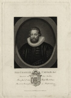 Sir Charles Caesar, published by Robert Wilkinson - NPG D26970