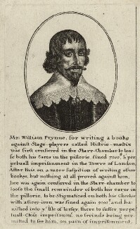 William Prynne, by Wenceslaus Hollar - NPG D26981