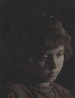 Unknown girl, by (Charles) John Hope-Johnstone - NPG P134(11)
