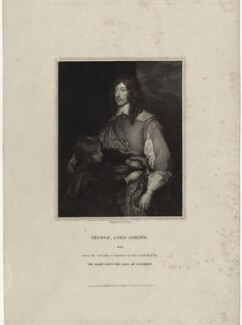 George Goring, Baron Goring, by Henry Thomas Ryall, after  Sir Anthony van Dyck - NPG D26995