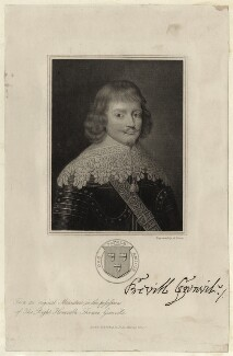 Sir Bevil Grenville, probably by Thomas Anthony Dean, published by  John Samuel Murray - NPG D27003
