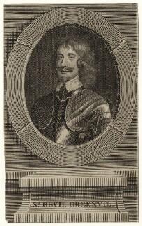 Sir Bevil Grenville, after Unknown artist - NPG D27010