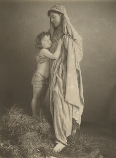 Harold Hawthorn Myers; Georgina, by Eveleen Myers (née Tennant) - NPG Ax36326