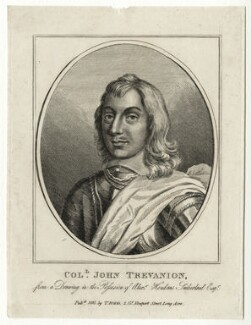 John Trevannion, published by Thomas Rodd the Elder - NPG D27016